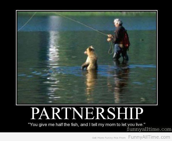 Funny Quotes About Partnership