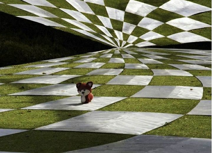 38 The Garden of Cosmic Speculation in  in Scotland is open to the public only one day a year.