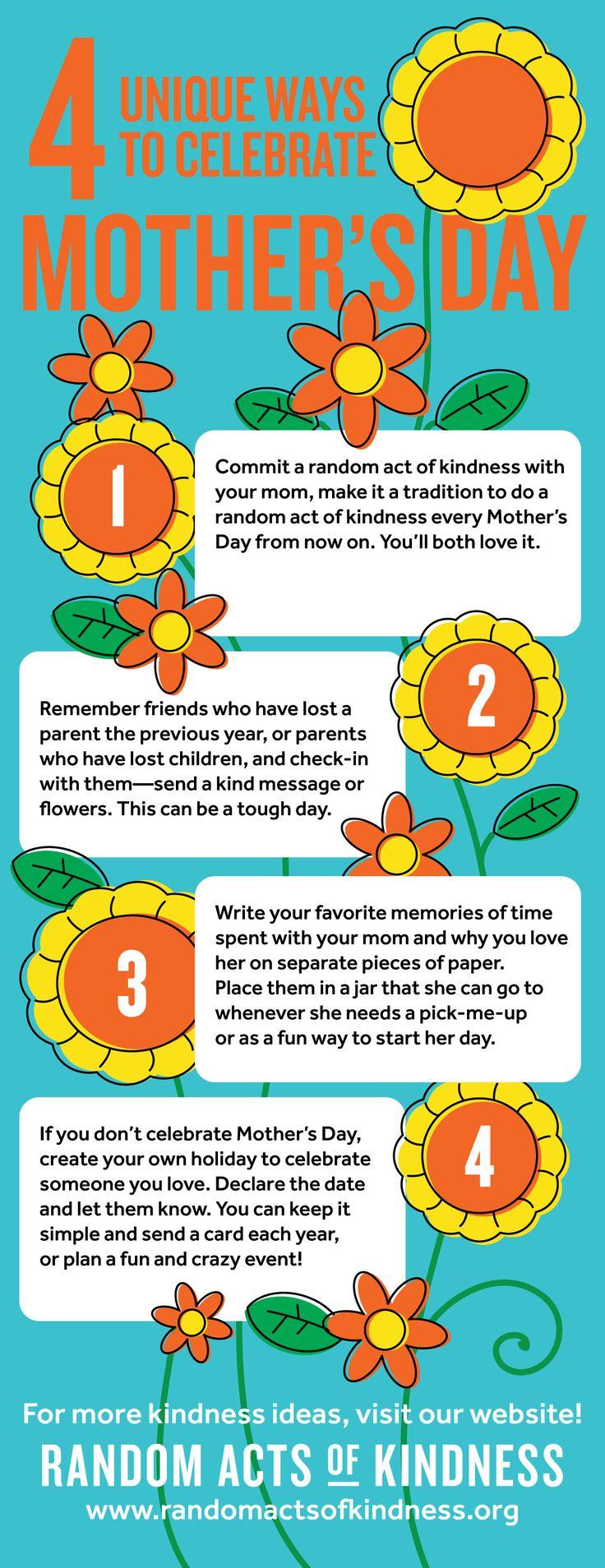 Unique ideas for spirit week - 4 Unique Ways To Celebrate Mother S Day