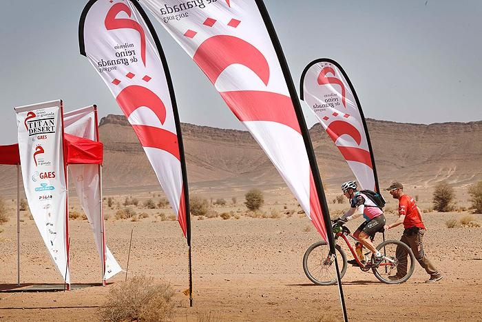 Titan Desert cycling race 2012