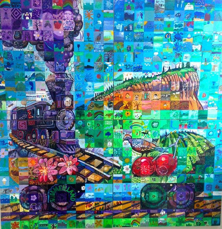 Summerland 150 yr mural