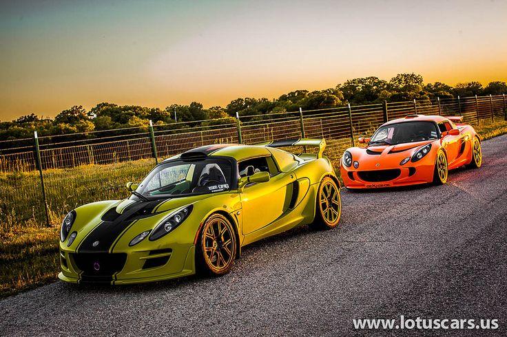 Green vs Orange #Lotus Exige