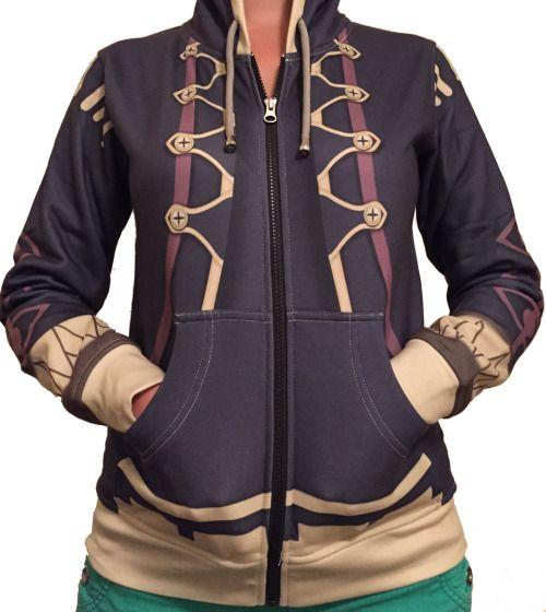 I NEEEEEED IT!!!!!!! (Fire Emblem: Awakening - Robin hoodie from Etsy) <------ aaaAAAAAAAAAH I NEED IT TOO