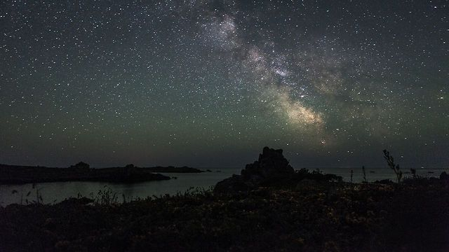 Dark Nights II by Graham Gaunt. I was lucky enough to spend a week on the beautiful Island of St Agnes, isle of Scilly during an unusual stretch of very good clear weather. I spent every night awake dragging my gear out at dusk and returning to sleep at dawn. No matter how much I thought I had planned out each shot the unraveling of the nights events always brought new and different surprises.