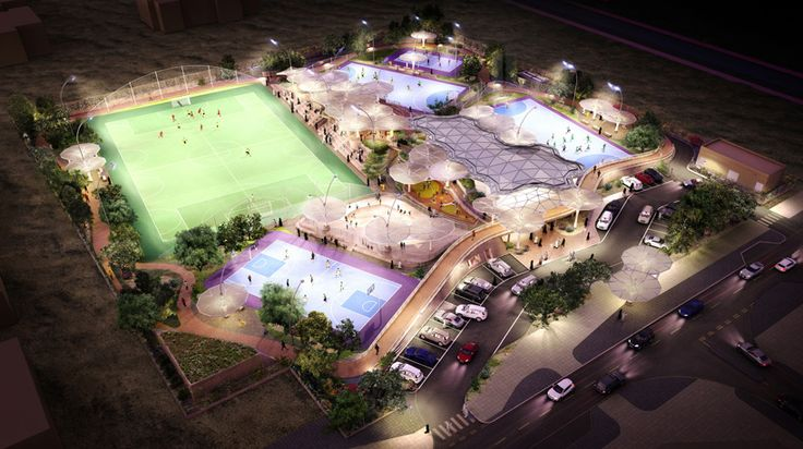 grimshaw plans national network of recreational sport facilities in qatar