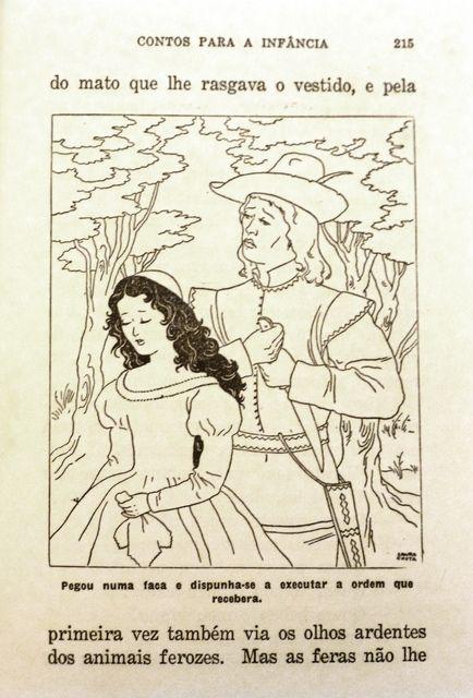 """Ilustração de Laura Costa_ conto """"Branca de Neve"""""""