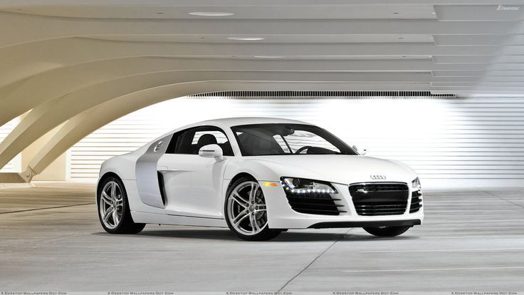 Nice Exotic cars 2017: audi r8 | White Audi R8 2012 Front Side - Car Wallpapers - Wholles.com...  Vroom!