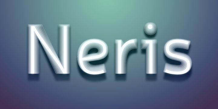 Neris (HOT font) - http://fontsdiscounts.com/neris-hot-font/