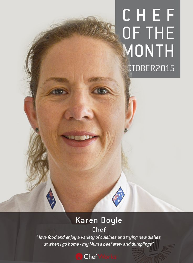 Karen takes her involvement in the culinary industry to an impressive level. She actively works to inspire and educate chefs within her job role as Head Teacher at Le Cordon Bleu. She is an inspiration to women in the hospitality industry, devoting time as an ambassador for the association 'Women in World-Chefs'. She's also the President for the Australian Culinary Federation NSW-ACT & Regions. #chefworksau #chefworks #chefofthemonth #lecordonbleu #australianculinaryfederation