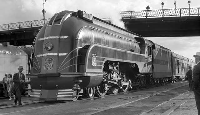 UP4-6-2 2906 inCheyenne, Wyo., July 18, 1937.