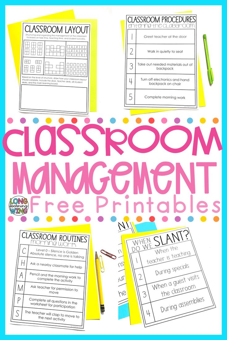 The Ultimate Classroom Management Guide Classroom