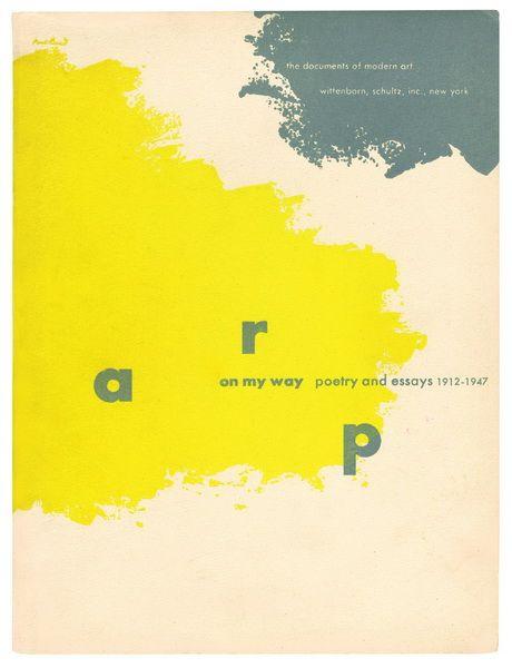 Paul Rand, couvertures de la collection « The Documents of Modern Art », publiée par le Museum of Modern Art, 1944-1950