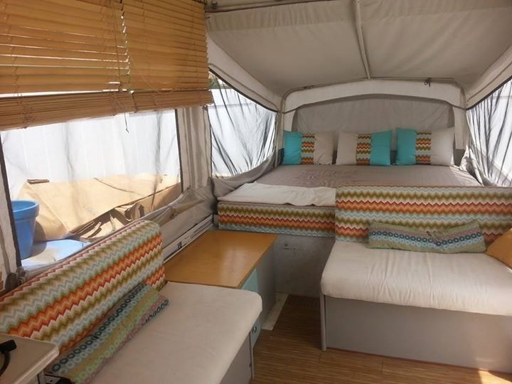 1995 Fleetwood Americana Pop Up Camper Very Nice Remodeled