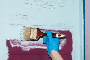malowanie drugim kolorem