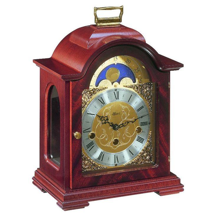 hermle-debden-mechanical-mantel-clock-mahogany-westminster-chime-1488