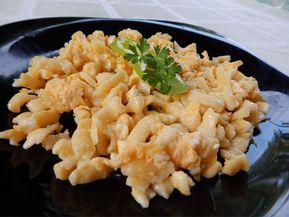 NOKEDLI RIZSLISZTTEL ( GALUSKA ) – Gluténmentes Chef blog - Átol Tibor