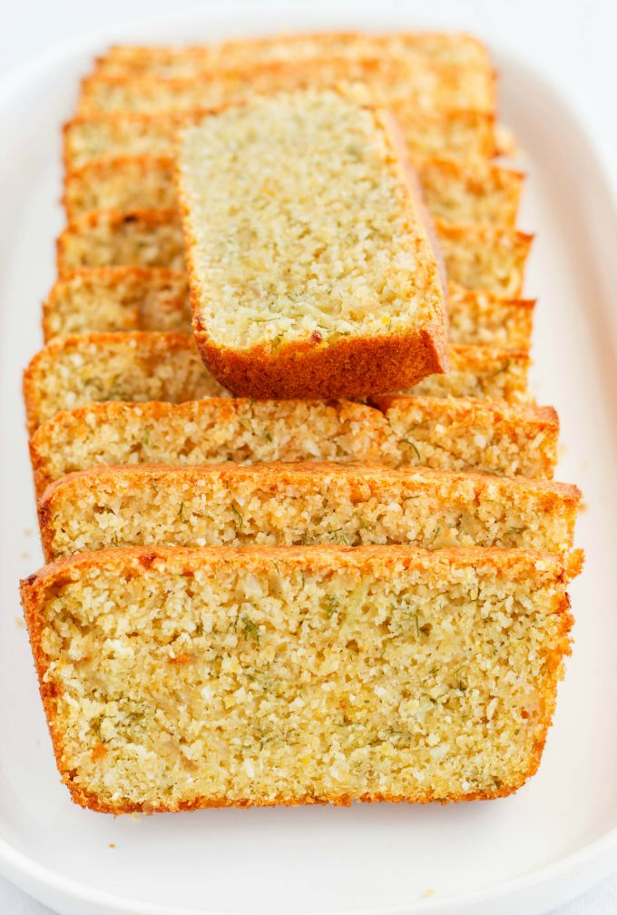 Moist, tasty, and gluten-free beer and Parmesan bread made with lentil flour!