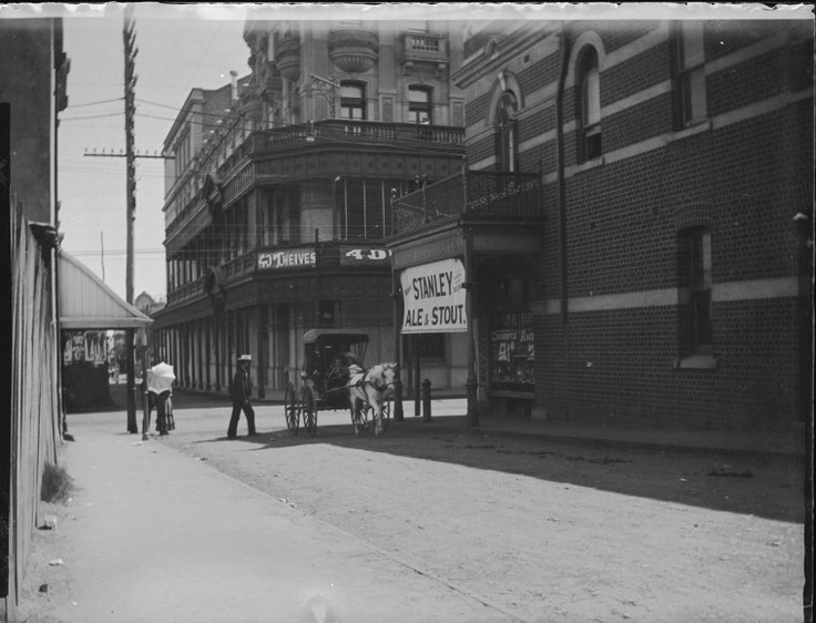 Cnr King and Hay Streets, Perth, c1914