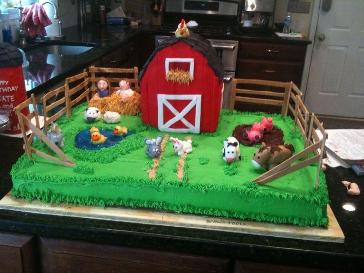 Farmland Birthday Cakes
