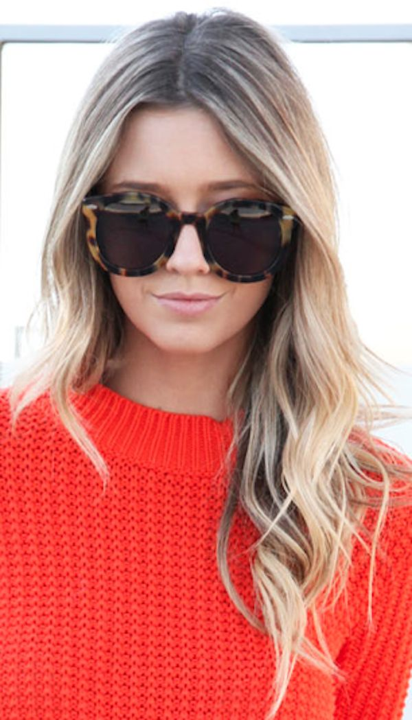 .: Sweaters, Shades, Style, Haircolor, Blondes, Tortoi Shells, Ray Ban, Hair Color, Sunglasses