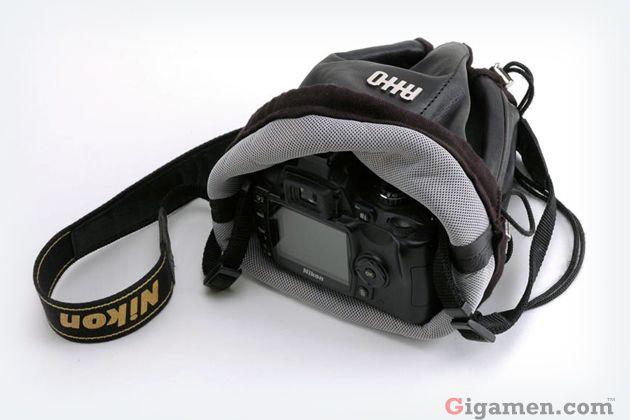 新形状のカメラバッグはイタリア製