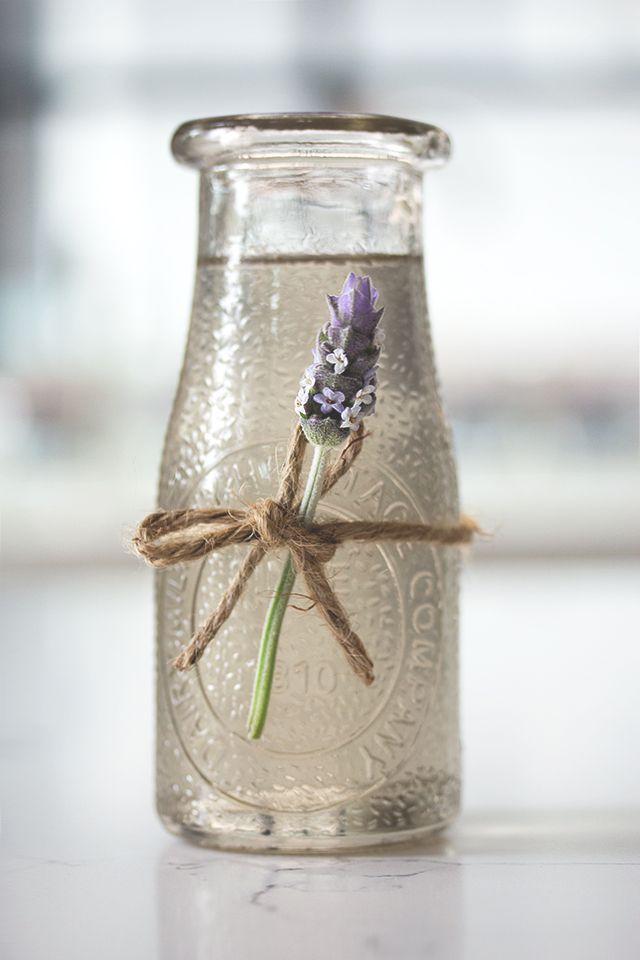 Lavender Syrup for lavender lemonade