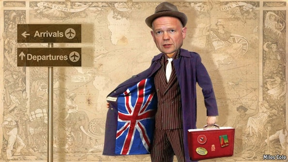Travels with a salesman  Friendliness mixed with self-interest: William Hague's vision for British diplomacy