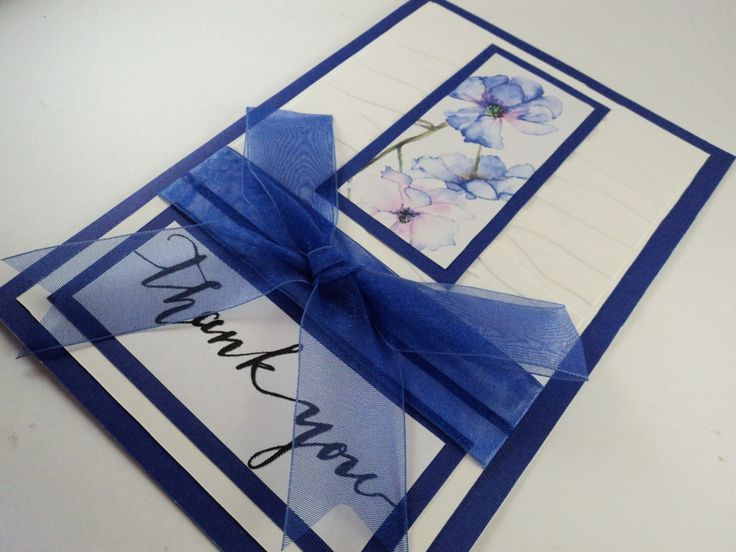 This is simple yet stylish thank you card that is just right for showing your gratitude towards your friends and family.