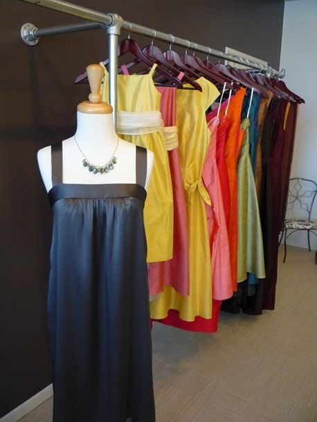 Vintage Retail Kee Klamp Clothing Rack