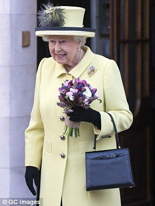 It is believed the Queen, pictured last month, is feeling better and will attend a Sunday service tomorrow at St Mary Magdalene Church at Sandringham