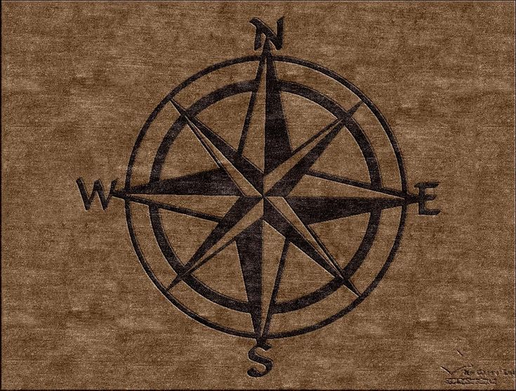 Compass Rose   Nautical Theme Custom Area Rug. Make Yours At  Www.HighCountryRugs.
