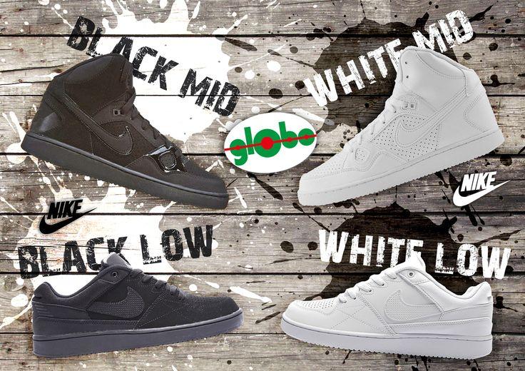 Oggi sei Black o White? Mid o Low?  Scopri le nostre #nike In tutti i punti vendita Globo!!!!