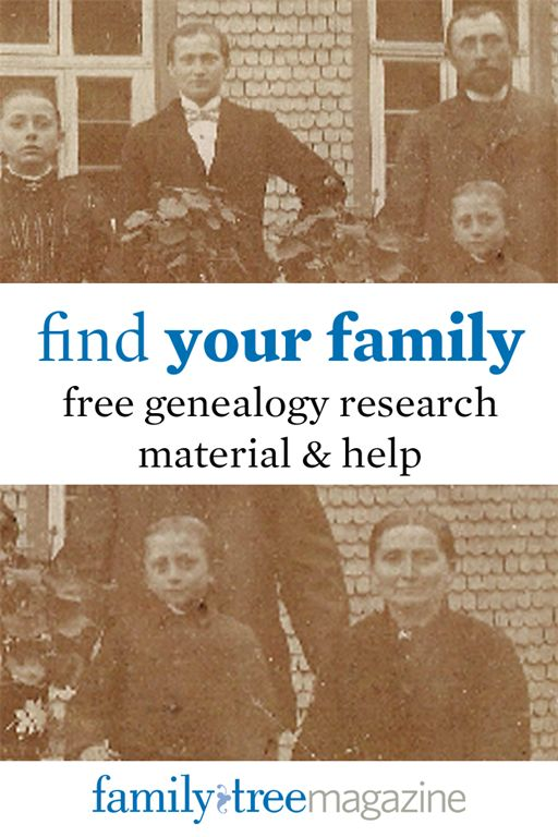 Free Genealogy Research Material Cheatsheets and ebooks on FamilyTreeMagazine.com