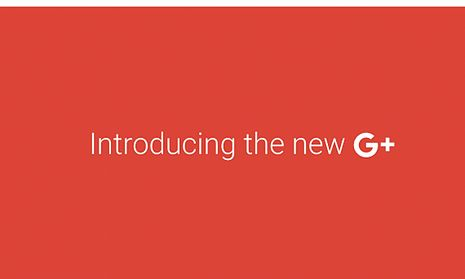 Google's promotional image for its new design.