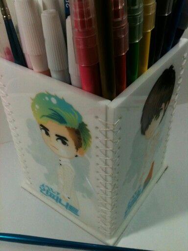 Acrylic Standinf Pencil Box (Experiment Stuff)