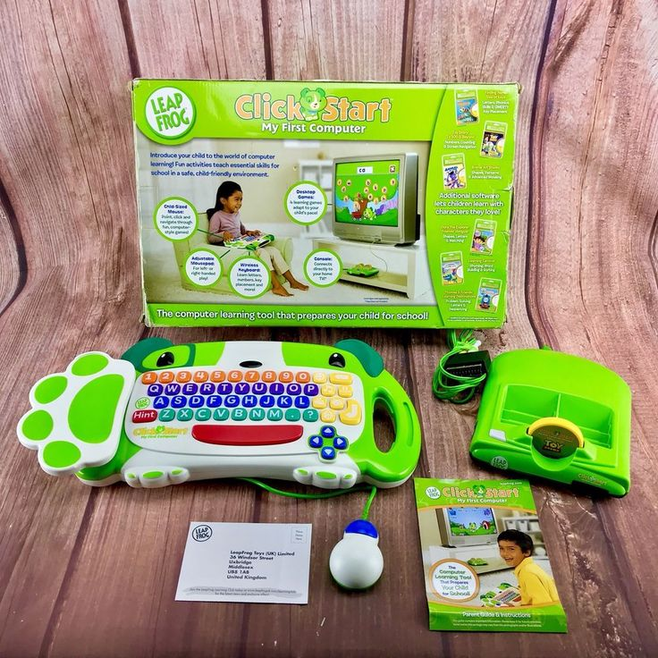 Leapfrog Click Start My First Computer 36 Years School