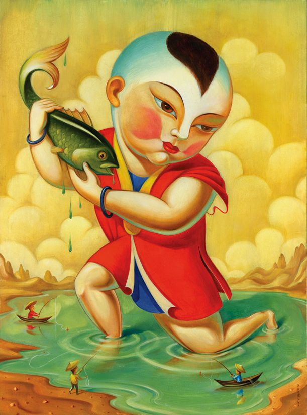 ✯ China's Arrogance :: Artist Chris Buzelli ✯
