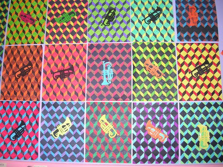 Arts plastiques en primaire - école privée Roanne Saint Michel
