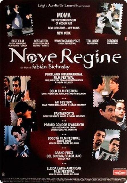 Nove Regine è un bel film con due piccoli delinquenti a caccia del colpo grosso.
