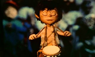 the little drummer boy - this scene still makes me cry :)