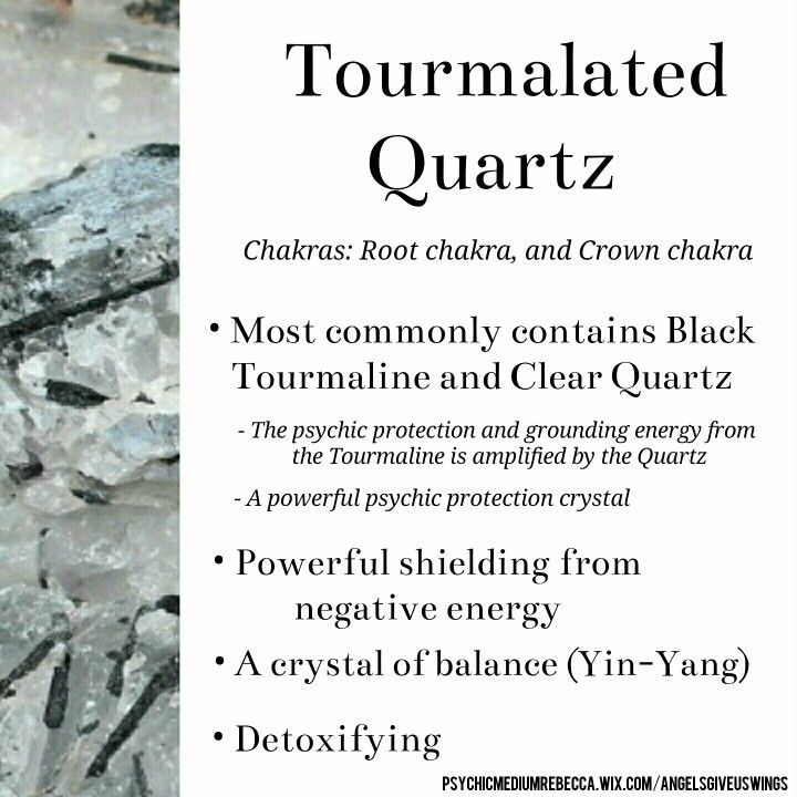 Tourmalated Quartz crystal meaning                                                                                                                                                                                 More