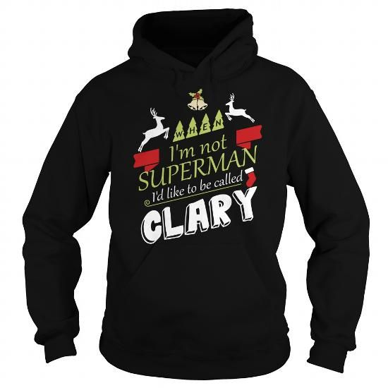 I Love CLARY-the-awesome T shirts