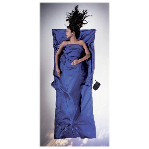 Cocoon Seidenschlafsack Mummy Liner - Silk - farbig Cocoon / Schläfst du auch gerne im eigenen Bettzeug?