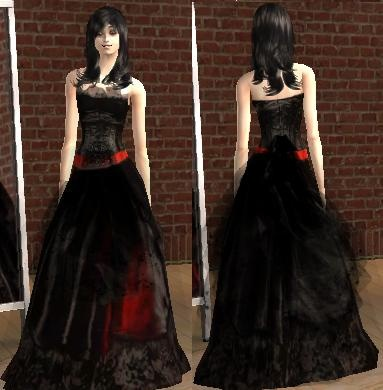 halloween wedding dress i am in love with it - Halloween Wedding Gown