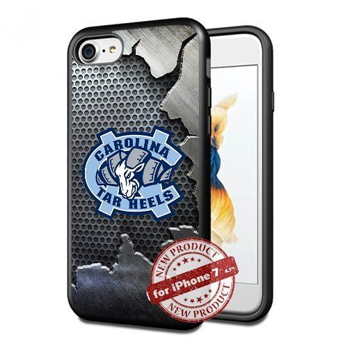 North Carolina Tar Heels College Basketball Apple iPhone 7 Case Cover Slim Rubber TPU by SURIYAN CASE, http://www.amazon.com/dp/B06XZCNX43/ref=cm_sw_r_pi_dp_x_huuFzbXQEA02C