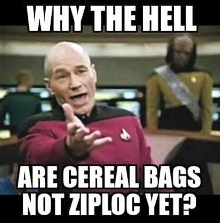 So True. Get on it Kelloggs and general mills and all of you cereal makers!!!