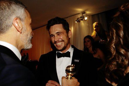 James Franco Attends SAG Awards While Aziz Ansari Sits Out