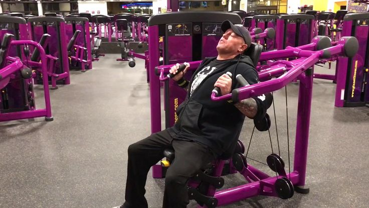 Planet Fitness Shoulder Press Machine - How to use the shoulder press Machine at Planet Fitness - YouTube