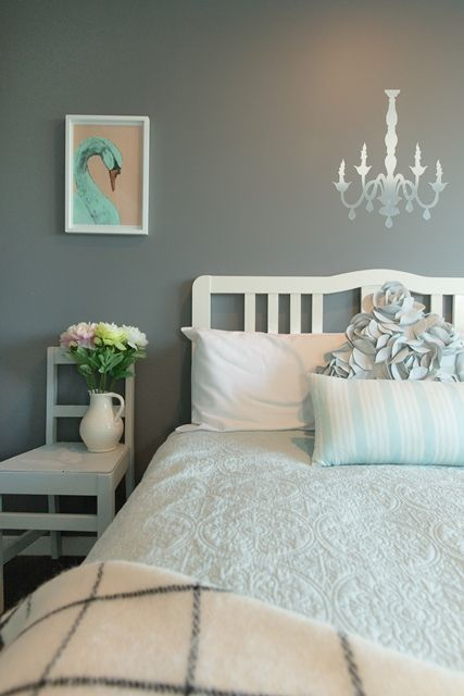 Creating a romantic, restful and whimsical bedroom space