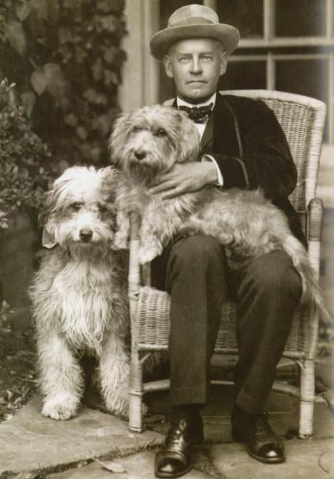 John Galsworthy OM (14 Aug 1867–31 Jan 1933), English novelist and playwright. Notable works include The Forsyte Saga (1906–1921) and its sequels, A Modern Comedy and End of the Chapter. Through his writings he campaigned for a variety of causes, including prison reform, women's rights, animal welfare, and the opposition of censorship. He won the Nobel Prize in Literature in 1932.